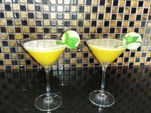 signature cocktail passionfruit margie