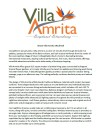 About Villa Amrita PDF